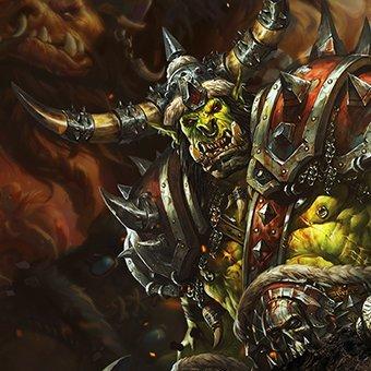 BlackRock > Лендинг пейдж для игрового сервера World of Warcraft