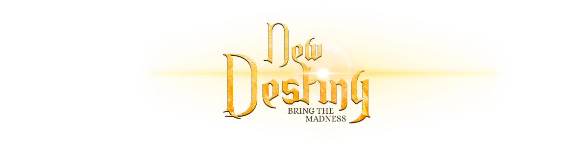 NewDestiny > Website design for Perfect World Online private  server. Logotype