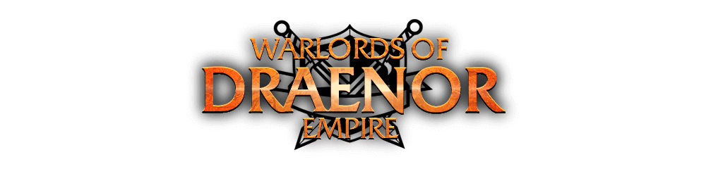 WoDEmpire > Website design for private server World of Warcraft. Logotype